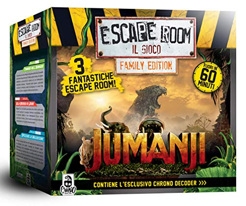 Cranio Creations Escape Room - Jumanji - Board Game in Italian