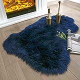 Ashler Soft Faux Sheepskin Fur Chair Couch...