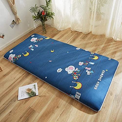 Colchones Colchón plegable del estudiante de Tatami, colchón de piso niños plegables, roll up piso futón colchón, colchón de camping de espuma de memoria, relleno de esponja dura Textiles del hogar