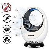 Parsion insektenvernichter,Elektrischer Insektenvernichter,Insektenfalle Lampe, Keine Strahlung ungiftig USB-Ultraviolettlicht Keine Chemikalien