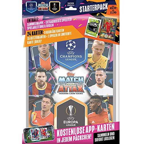 Champions League 2020/21 - Trading Cards Sammel Karten- 1 Starter