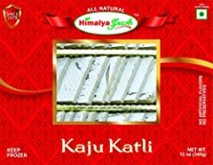 PREMIUM: Hamalya Fresh Kaju Katli are made by most experienced chefs and of the highest quality NATURAL: All Natural, Clean deck of ingredients. Authentic Indian Food & Sweets BEST INGREDIENTS: No chemicals, no preservatives, no fillers, no gums, no ...