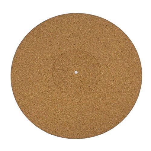 Cork Turntable Mat for Vinyl LP Record Deck Platter
