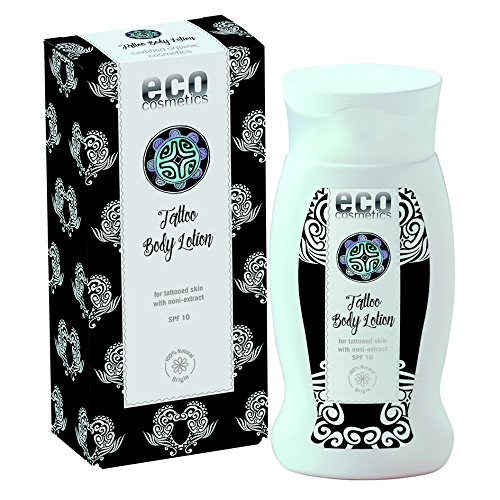 eco cosmetics Tattoo Körperlotion LSF10 200ml (bio, vegan, Naturkosmetik)