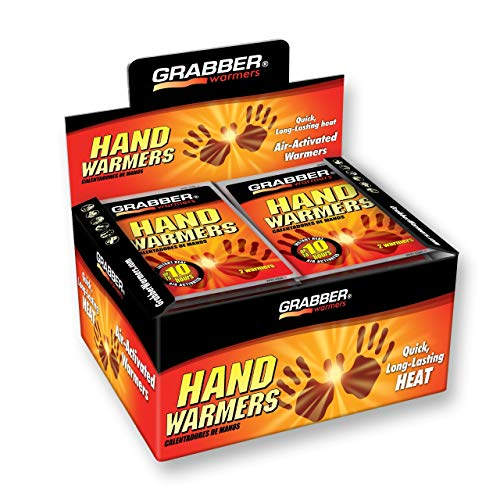 Grabber Warmers 7+ Hours Hand Warmers, 40 Count