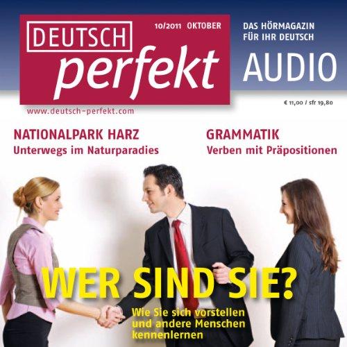 Deutsch perfekt Audio - Sich vorstellen. 10/2011 cover art