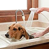 Dog Shower Attachment for Bathtub Faucet(0.59 in -1 in) Pet Shower Sprayer for Bathtub Shower Head for Fast and Easy at Home Dog Cleaning/Washing Pets and Cleaning Tub