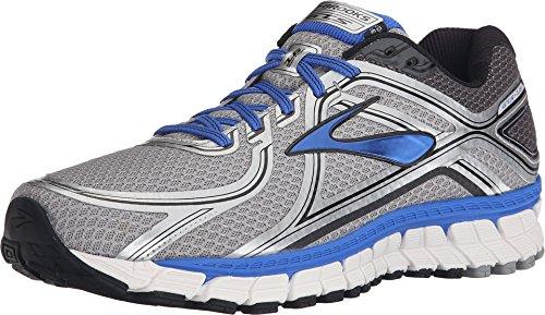 Brooks Adrenaline Gts 16 M, Zapatillas de Running Para Hombre, Multicolor (Silver/Electric Brooks Blue/Black), 43 EU
