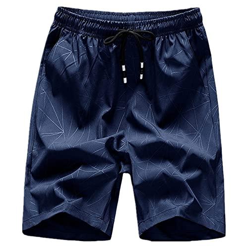 N\P Pantalones Cortos para Hombres Ocasionales Pantalones Cortos de Playa Pantalones