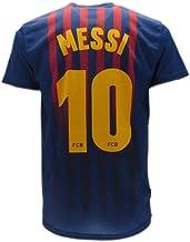 S M L XL Barcellona Maglia Lionel Messi 10 Replica Autorizzata 2017-2018 Bambino-Ragazzo Taglie-Anni 2 4 6 8 10 12 14 Adulto