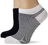 Living Crafts Sneaker-Socken, 2er-Pack 39/42, navy/white