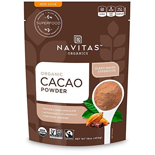 Navitas Organics オーガニック・カカオパウダー 454 g(16 oz) [並行輸入品]