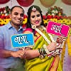 Wobbox Colourful Indian Pattern Marathi Family Photo Booth Party Props for Baby Shower #3