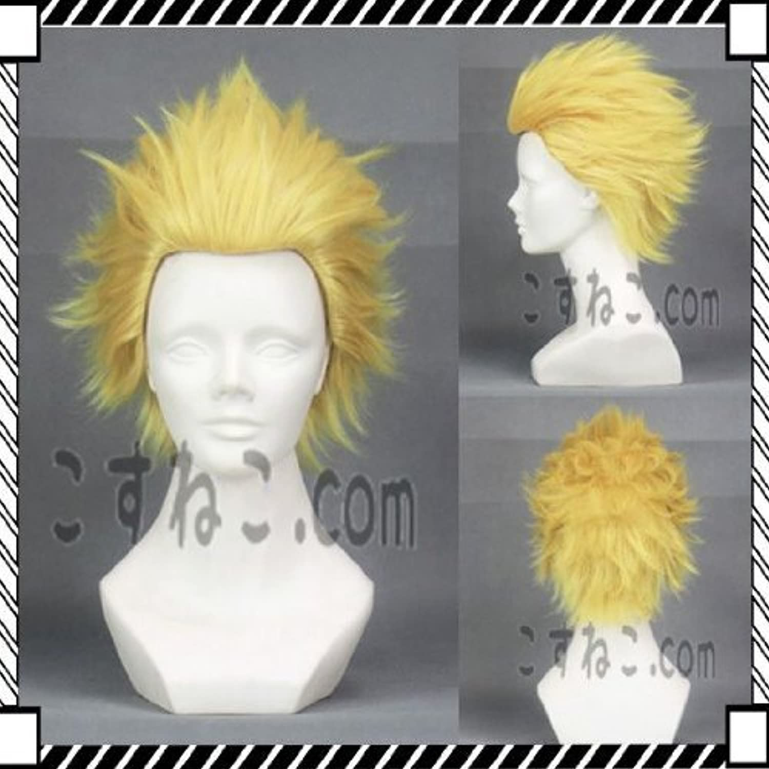 For cosplay wig fate stay night fate zero Gilgamesh mesh wind light gold spikes swears in the cat cause