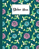 Sticker Album: Koi Sticker Album, Blank Sticker Book / My Cool Sticker Book, 120 Pages, Size 8' x 10'