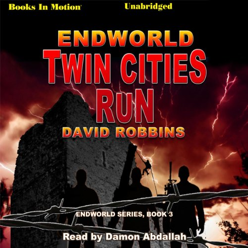 Endworld: Twin Cities Run audiobook cover art