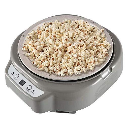 220V Kaffeeröster Maschine Popcorn Maker Bohnenrösten Digitalanzeige Countdown-Funktion, Edelstahl Kaffeeröster für Cafe Shop Home Haushaltsgebrauch,Grau
