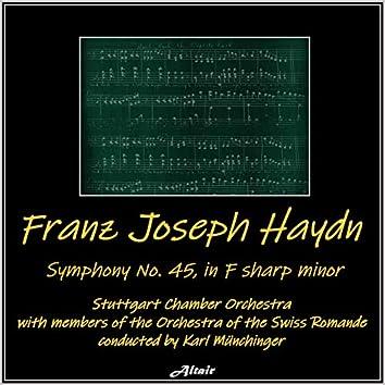 Haydn: Symphony NO.45 in F-Sharp Minor (Live)