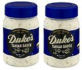 Duke's Tartar Sauce, 8.0 FL OZ (Pack of 2)