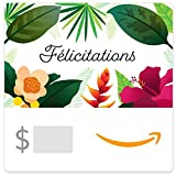 Amazon.ca Gift Card - Félicitations Motif Floral