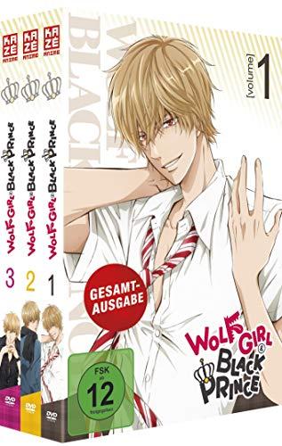 Wolf Girl & Black Prince - Gesamtausgabe - Bundle - Vol.1-3 - [DVD] - Relaunch