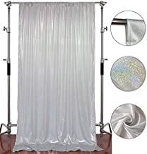 FUERMOR Smooth and Soft Background 5x7ft Light Silver Cloth Photography Backdrop Party Decoration YouTube Photo Props FUTJ002