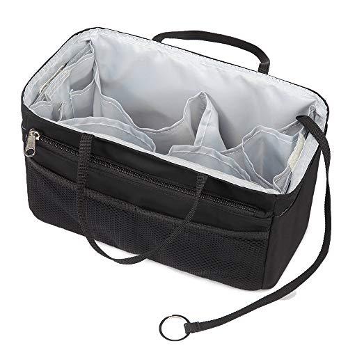 バッグインバッグ トート リュック 16ポケット 自立 収納整理 大容量 軽量 ナイロン インナーバッグ インナーポケット 収納力抜群 仕分け メンズ レディース bag in bag