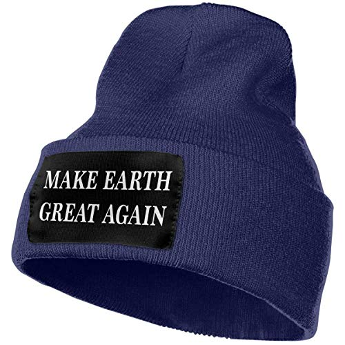 Stretchy /& Soft Winter Cap Thin Melanoma Cancer Awareness American Flag Unisex Solid Color Beanie Hat