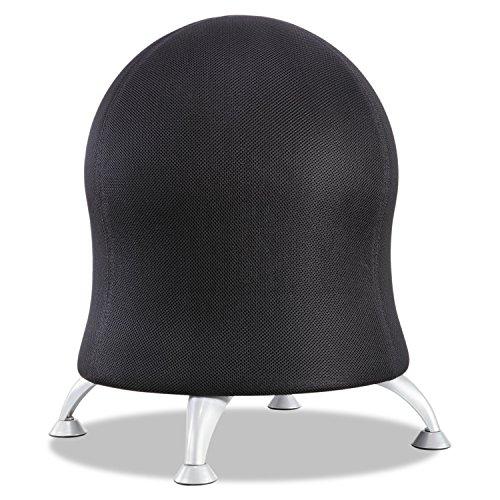 Zenergy 4750BL - Silla de Pelota (17,5 quot), Color Negro y Plateado
