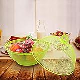Eruditter Obstkorb Mit Insektenschutz, Früchtekorb Mit Deckel, Obstschalen Für Obst Und Gemüse Für Jede Küche - 6
