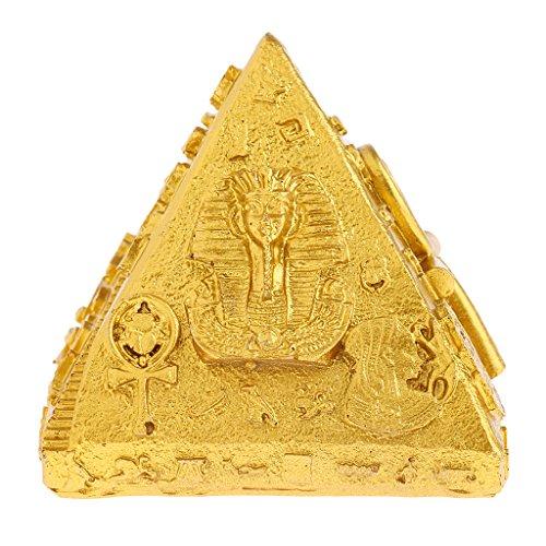 Ägypten Pyramide Modell Harz Pyramiden Figur Modelle Für Kinder Spielzeug Geschenke