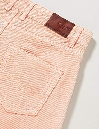 Pepe Jeans Nova Cord Falda, Rosa (Polvo Rosado 302), 14 para Niñas
