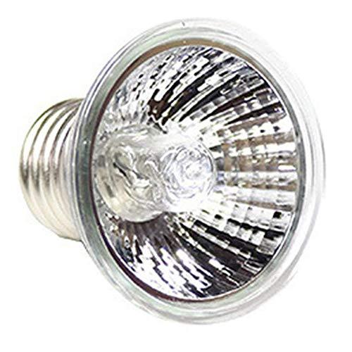 POFET Lámpara de halcón para Reptiles para Escalar Mascotas de Espectro Completo UVA UVB Turtle Tuff Lámpara halógena a Prueba de Salpicaduras Tortuga Calefacción Lámpara Solar