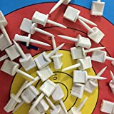 Huntingdoor Target Face Pins Target Accessories Archery for Holding Target Face/Paper on EVA Foam or Grass Target 24 Pack
