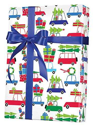 Christmas Vacation Gift Wrapping Paper Roll - 24' X 15'