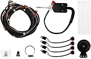 SuperATV Turn Signal Kit for Polaris RZR XP 1000 / XP 4 1000 (2014+) - (with Steering Column and Dash Horn) - Plug and Play for Easy Installation!