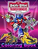 Angry Birds Transformers Coloring Book: The Crayola Angry Birds Transformers Coloring Books For Adults Colouring Page