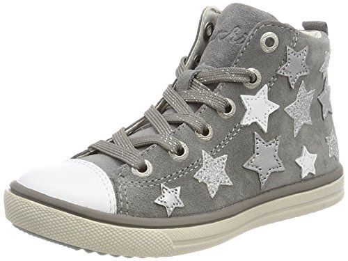 Lurchi Mädchen Starlet Stiefel, Grau (Grey), 29 EU