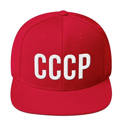 PlimPlom CCCP Russland Russia Snapback UDSSR Kappe Baseball Cap Cooles Design Gestickt Für Damen und Herren
