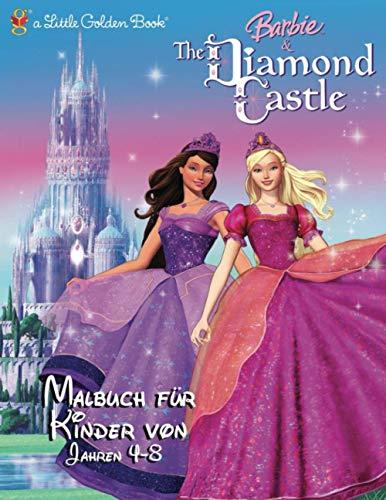 Barbie👸 Malbuch für Kinder von 4-8 Jahren: Princess Coloring Makeup💄,Hairstyle💇♀️,Fashion👗 Für Mädchen