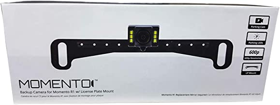 Momento Parking Rear View Back-Up Camera w/License Plate Mount Bracket