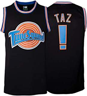 Custom Movie Jersey Space Jam Tune Squad Black Color Men's/Womens/Youth Basketball Jerseys