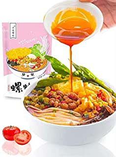 只投螺碗螺蛳粉 柳州螺蛳粉 320g×1袋 劉州カタツムリ麺、便利なインスタントライスヌードル、広西名物スナック 中華料理 速食米粉 麻辣米粉 (1袋-320g)