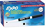 expo wet sticks - EXPO 86001 Low Odor Dry Erase Marker, Fine Point, Black (Pack of 12)