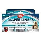 Simple Solution pañales Desechables para Perro, Ultra Absorbente, Paquete de 22