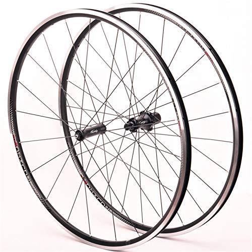 Rueda de Liberación Rápida,700C Peilin Antes 2 Después 4 Llanta Aleación Aluminio Admite Velocidad 8-9-10-11 Apto para Bicicletas Ruedas Ciclismo