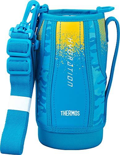 サーモス 交換用部品 スポーツボトル (FHT-800F)用 ハンディポーチ ブルーカモフラージュ