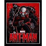 Ameisenmann-Marvel-Comic-Panel, 100 % Baumwolle, bedruckter