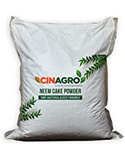 Cinagro Organic Neem Khali Cake Powder for Plants - Fertilizer, Pest Repellent for Home Gardening