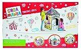 Giochi Preziosi – Crea Mania Painting Circus – Cortina de círculo para colorear para niños